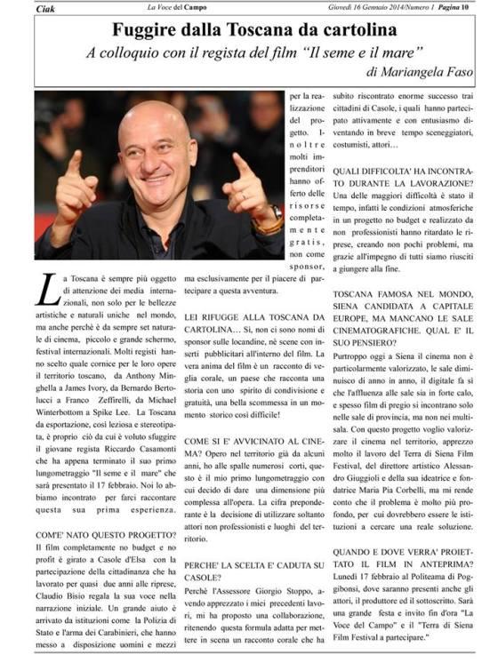LA VOCE DEL CAMPO 16_01_2014
